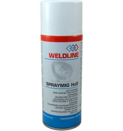 Spray anti-proyecciones mig H2O