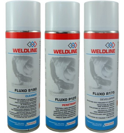 Kit Spray detector de Fisuras