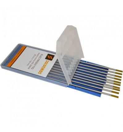 Electrodo Tungsteno 1,5% Lantano